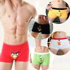 Angry Birds Style Men Sexy Boxer Briefs Boxers Trunks Cotton Underpants A60
