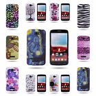 For Alcatel One Touch Fierce 2 / Pop Icon Hard Back Design Phone Cover Case