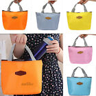 Thermal Portable Insulated Cooler Lunch Picnic Carry Bag Tote Storage Pouch