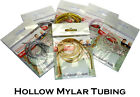 Hollow MYLAR TUBING for Realistic Bodies in Fly Fishing Lures in Fly Tying