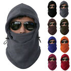 New Black Thermal Balaclava Hood Outdoor Swat Ski Winter Windproof Face Mask Hat