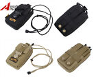 """Tactical Molle 5.5"""" Double Layers Phone Pouch Bag for iPhone6 plus Samsung Note3"""