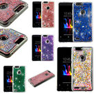 For Alcatel ONETOUCH Evolve 2 Bling Diamond Wallet Flip Pouch Case +Screen Guard