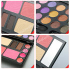 Eyeshadow Makeup Kit Cosmetics Palette Set Lip Gloss Powder Cake 21 Colors Cheek