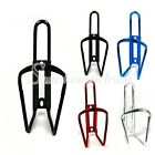 Aluminum Cycling Bike Bicycle Water Bottle Cage Holder Rack Adapter 4 Colors