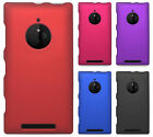 AT&T Nokia Lumia 830 Rubberized HARD Protector Case Phone Cover + Screen Guard