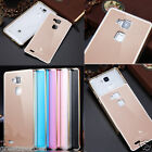 Luxury Metal Frame Bumper Acrylic Back Hard Cover Case For Huawei Ascend Mate 7