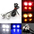 12V Car Motorcycle 3W LED Eagle Eye ,Daytime Running DRL Tail Light Lamp Backup