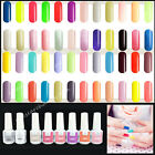Gel Polish Soak-off UV Led Gel Polish Long Lasting Nail Art Tips Glitter 6ml #B