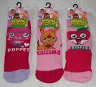 Girls Moshi Monster Katsuma Poppet Luvli Socks Uk Size  6-8.5 9-12 12-3.5  New