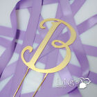 Black Metal/Gold Metal Monogram Harrington Wedding Cake Topper Decoration