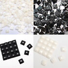 500 pieces Flatback Square Faceted Rhinestone Scrapbooking DIY Craft Decoration