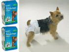 Choose Size & Quantity - Clean Go Pet - Disposable Dog Diapers - Mini or XSmall
