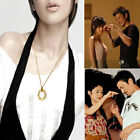 Tomorrow Ring Necklace Fashion Trick & Puzzle Toy Lovers Close-up Magic Props