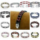 Lot Color Stainless Steel Cool Men's Street Style Motorcycle chain Bracelet 16MM