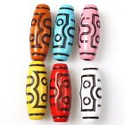 15/75pcs 152679 New Colors Carved Barrel Vintage Acrylic Charms European Beads
