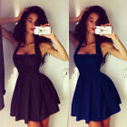 Sexy Women Summer Casual Dresses Sleeveless Cocktail Short Mini Dress