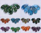 42-50mm Gemstone 5pcs pendant loose beads set for necklace jewelry design