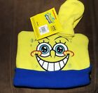 Spongebob  hat and mittens NWT Young ages 3-6 years toddler