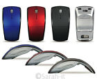 2.4Ghz Folding Optical Wireless Arc Mouse Mice USB Scroll Wheel Mini Receiver PC