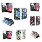 For LG Tribute / Transpyre / Optimus F60 Wallet Flip Pouch Cover Case +Screen