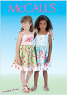 McCall's 7076 Sewing Pattern to MAKE Ginger & Louise Shirred Top Sun Dresses