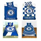 CHELSEA FC SINGLE AND DOUBLE DUVET COVER SETS BEDDING BEDROOM FREE P+P