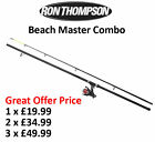 Ron Thompson Master Combo * RT Beach 12' 360cm 4-8oz 2pc Rod + RT 65 Surf Reel*