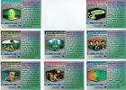 STAR TREK ORIGINAL SERIES 3 BEHIND THE SCENES CARD SINGLES