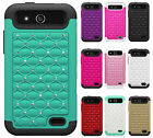 Boost Mobile ZTE Speed N9130 HYBRID IMPACT Dazzling Diamond Case Phone Cover