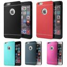 Tough PC and Aluminium Case Dual Layer Armour Snap Cover with FREE Screen Guard