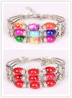 in 2 colors Fshion Charming Beads 2 lines Cuff Cool Retro Bracelet free shipping