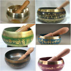 beautiful Tibetan Buddhism Cuprum Mantra Singing Bowl