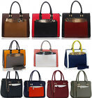 Women's New Two In One Medium Tote Bags Ladies Designer Fashion Handbags 00313