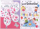 To A Very Special Godmother Birthday Card - Good Quality Various Designs