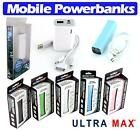 Ultra Max Power Bank Mobile Genuine High Quality Chargers - iPad iPhone Android