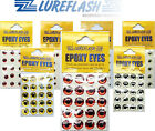 100x EPOXY EYES Fly Tying Material for Adding to Trout Fishing Flies (EE/..)