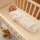 Groswaddle Gro Swaddle Grobag Baby Blanket 0-3 Month Unisex Cotton White 87655