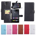 Luxury Flip Leather slot wallet Case Stand Cover Skin For OnePlus One Charm