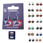 Brand New Licensed NFL All Teams Swirl Heart Earring Dangle Charm Pick Your Team $6.5 USD on eBay