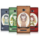 HEAD CASE DESIGNS CHRISTMAS ANGELS HARD BACK CASE FOR HTC WINDOWS PHONE 8X