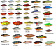 Bill Lewis Lures Rat-L-Trap - Choice of Colors and Sizes