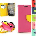 For ZTE Compel Flip Wallet Case Phone Pouch Protective Cover + Screen Protector