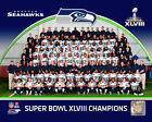 Seattle Seahawks Super Bowl Champions Formal Team Photo QP230 (Select Size)