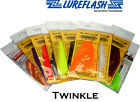 Lureflash TWINKLE HANK  for Fly Tying Material Trout Fishing Flies (TW/..)