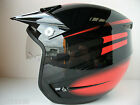 NEW HEBO ZONE 3 TRIALS HELMET (ALL SIZES) WITH VISOR MONTESA GASGAS OSSA TXT 4RT