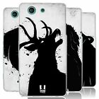 HEAD CASE ANIMAL INK BLOTS SILICONE GEL CASE FOR SONY XPERIA Z3 COMPACT D5803