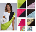SLING CARRIER Pet Dog Puppy Bag Pouch Shoulder Tote New REVERSIBLE All Colors!