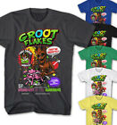 ★T-shirt Guardians of the Galaxy Groot Flakes Rocket Raccon Movie Comic GF25215★