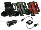 In Car Phone Holder+1A Charger+USB Cable for Samsung Galaxy Note 2 3 4 Neo